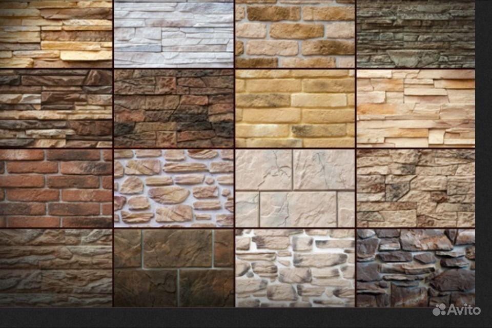 Облицовка стен искусственным камнем фото