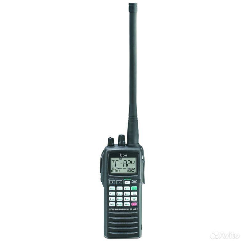Авиационная радиостанция (рация) ICOM IC-A6. Число каналов: 200.