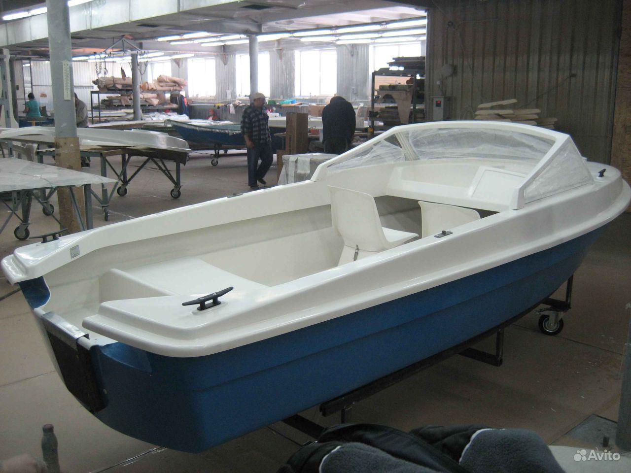 производство стеклопластиковых моторных лодок