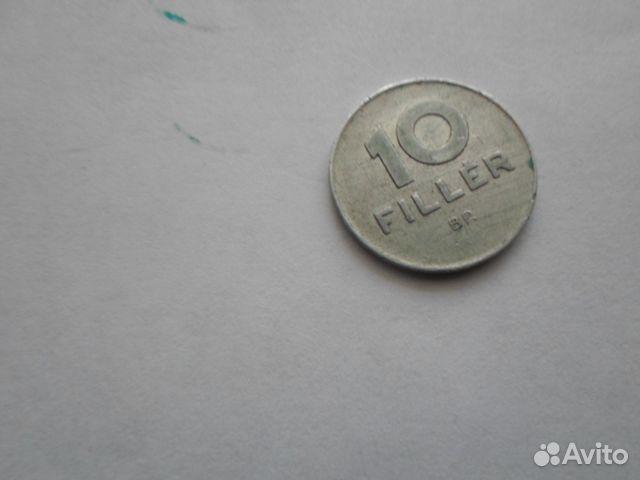 Венгрия 10 филлеров, 1970 год 89297874677 купить 1