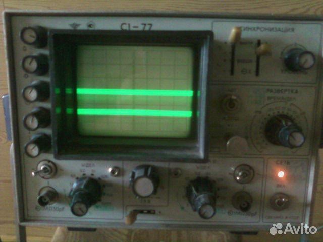 осциллограф с1-77 инструкция