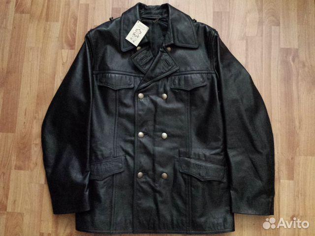 Купить Куртка Мужская Кожаная Бушлат
