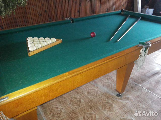Бильярдный стол   б/у  красноярск