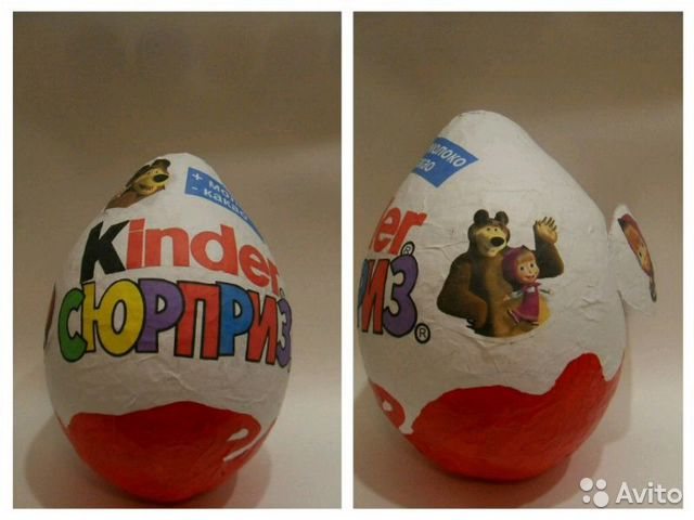 Киндер яйцо из папье-маше своими руками 44