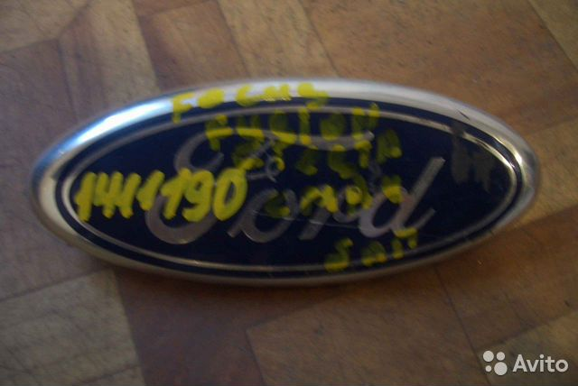 Эмблема задняя форд фокус 2 7 фотография