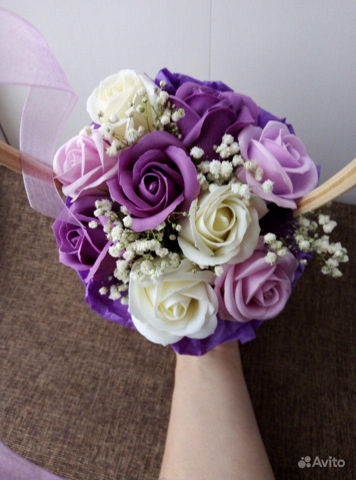 Цветы из мыла купить на Зозу.ру - фотография № 5