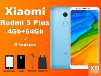 Xiaomi Redmi 5 Plus 4Gb+64Gb Голубой