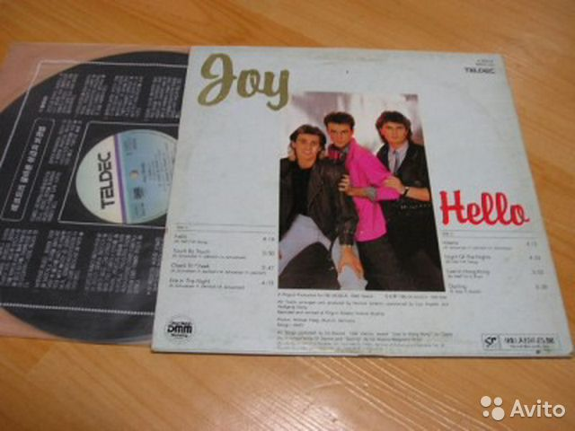 Joy - Hello (lp)— фотография №1