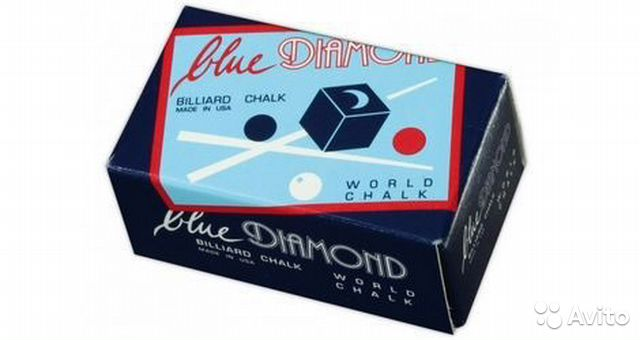 "Мел для кия ""Blue Diamond"", 2 шт— фотография №1"