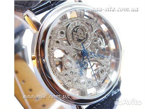 Купить часы скелетоны в Москве - часы skeleton