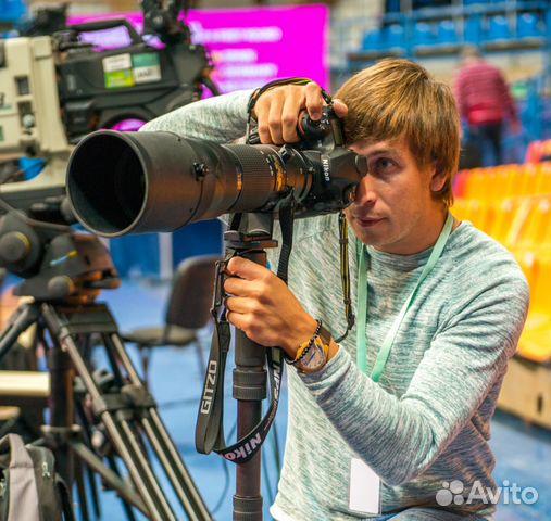 Спортивный фотограф вакансии