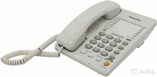Panasonic kx-ts2363 ru-w, телефон с громкой связью купить из.