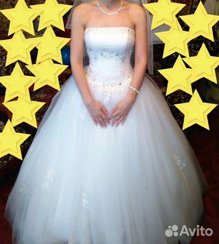 bfa7eed27cb Продаю свадебное  выпускное платье купить в Республике Чувашия на ...