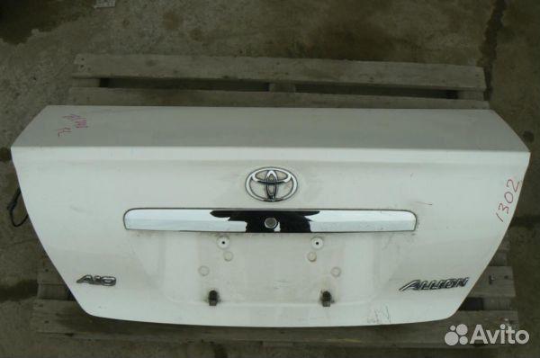 Крышка багажника Аллион/Allion ZT240 89131370222 купить 1