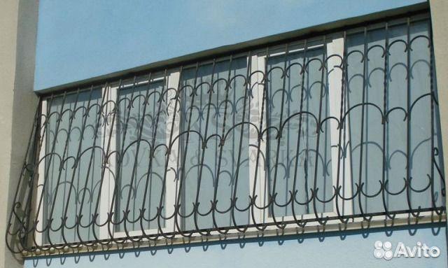 Решетки на балконы, окна в регионе москва / на сайте kvazar..