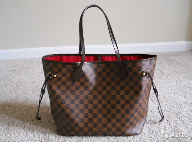 19ba3c630af2 Сумка Louis Vuitton Neverfull Mm Damier Луи Витон | Festima.Ru ...