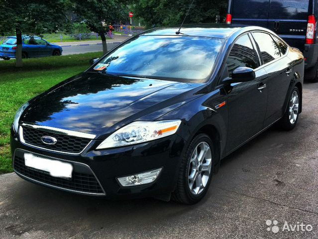Ford Mondeo Чёрный | DRIVE2
