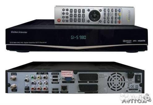 Спутниковый ресивер голден интерстар с-980 работают ли игровые автоматы в азов сити