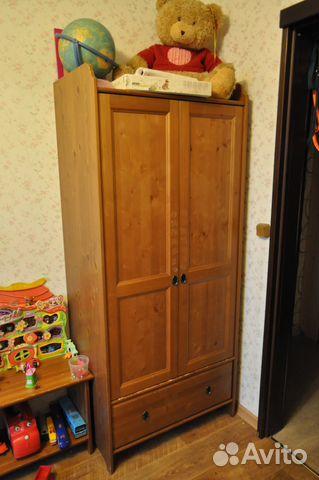 детский шкаф деревянный стеллаж икеа Festimaru мониторинг