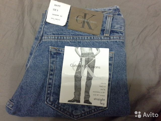 9f6c128f287a Джинсы Calvin Klein Jeans винтаж   Festima.Ru - Мониторинг объявлений