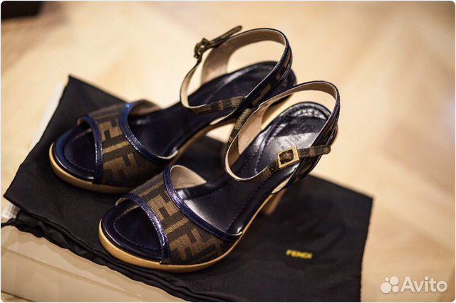 Туфли босоножки Fendi 226bacb32474f