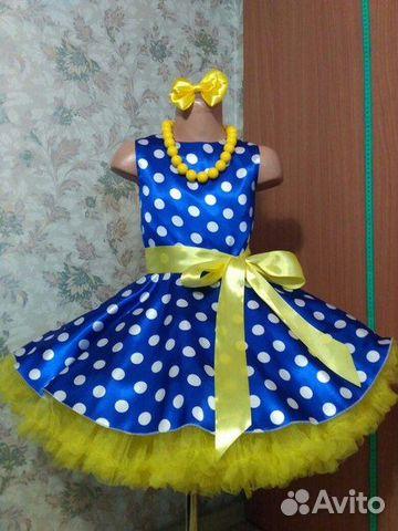 37480faead4 Платье для девочки стиляги ретро купить в Москве на Avito ...