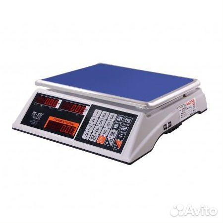 Весы торговые M-ER 327-15.2 LED bazar c акб 89273191277 купить 1