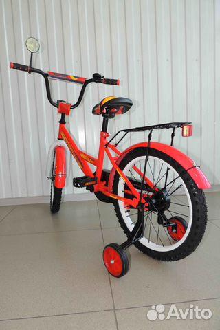 Велосипед Новый 18 Мишка, Red / В Кредит 89284666245 купить 6