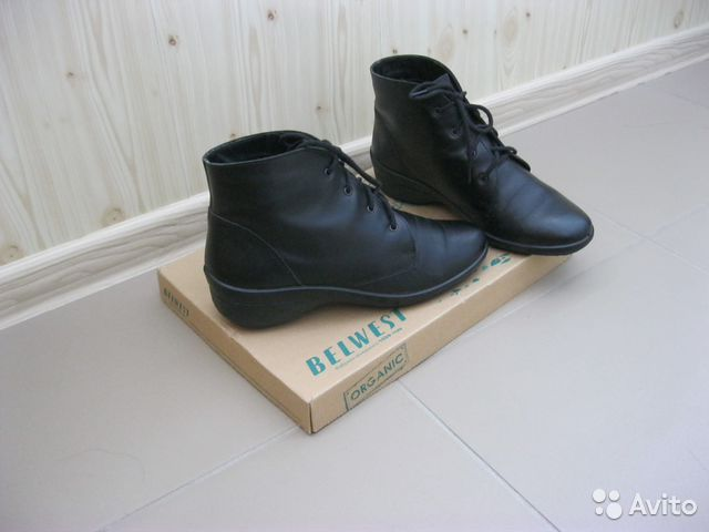 1806cae60 Кожаные ботинки
