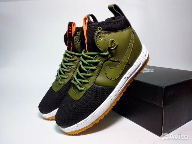 530d2be1 Кроссовки Nike Lunar Force 1 Duckboot зеленые | Festima.Ru ...