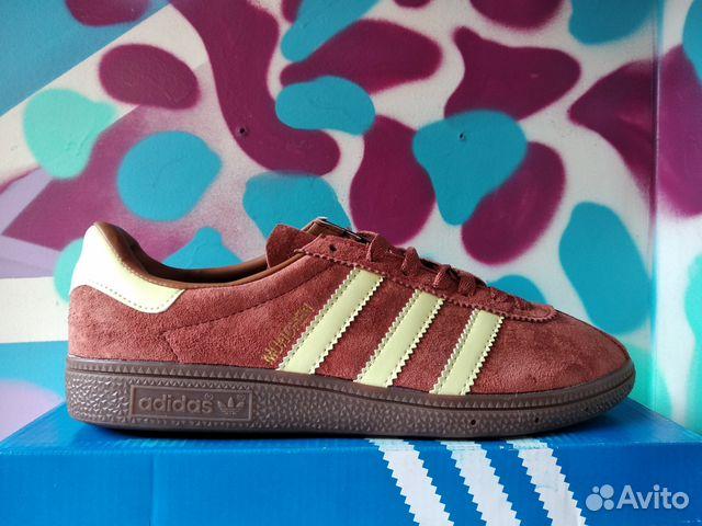 102bc82fe Кроссовки Adidas Munchen Red | Festima.Ru - Мониторинг объявлений