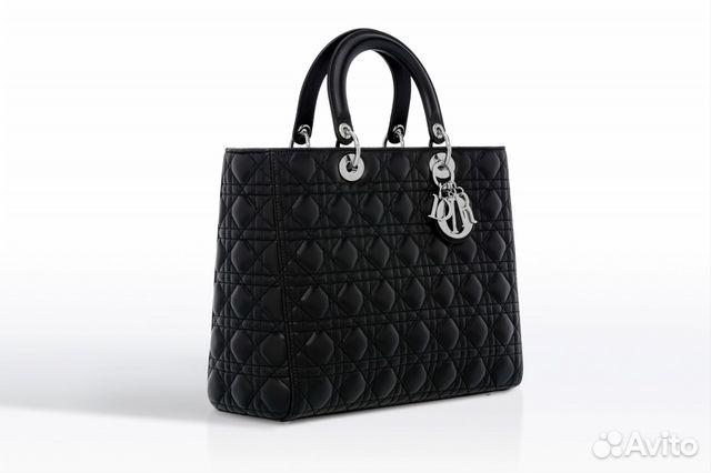 855010d7484c Женская кожаная сумка Christian Dior арт.081-1 купить в Москве на ...