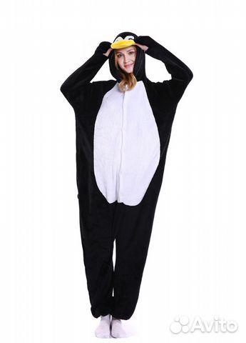 Кигуруми пижама пингвин  38114a3d6fe02