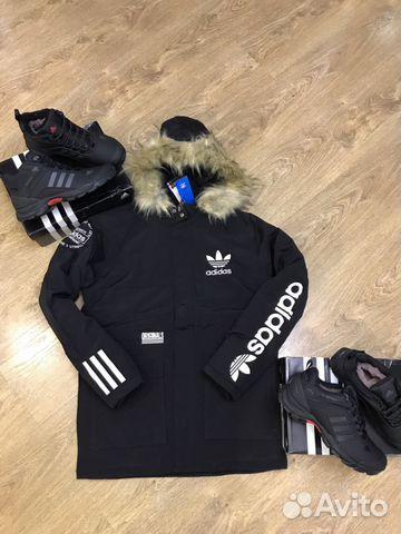 05339fda217 Куртка мужская зимняя Adidas