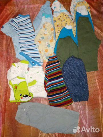 7b965f4a527c Пакет вещей на мальчика р.62-68   Festima.Ru - Мониторинг объявлений