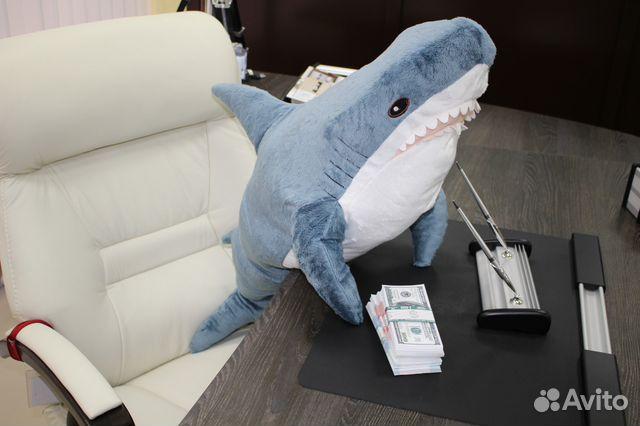 акула из Ikea блохэй купить в ростовской области на Avito