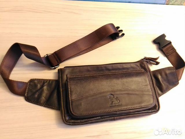 07467728a109 Мужская поясная сумка из кожи новая | Festima.Ru - Мониторинг объявлений