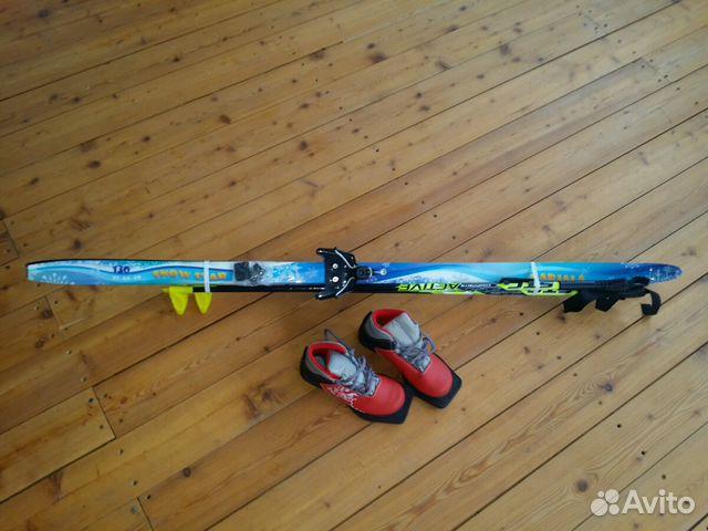 f7ec4f261930 Беговые лыжи детские с ботинками купить в Саратовской области на ...