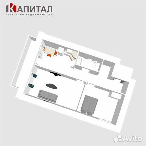 2-к квартира, 51 м², 6/10 эт. 89132494661 купить 3