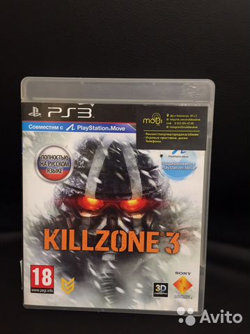 Killzone 3 для PS3 89133944700 купить 1