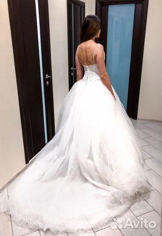 9687a272d6b Свадебное платье-облако купить в Москве на Avito — Объявления на ...