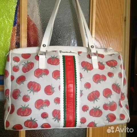 42178c91db72 Braccialini сумка из Италии, помидоры, светлая купить в Санкт ...
