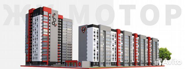 2-к квартира, 67.5 м², 5/16 эт. 89069675279 купить 1