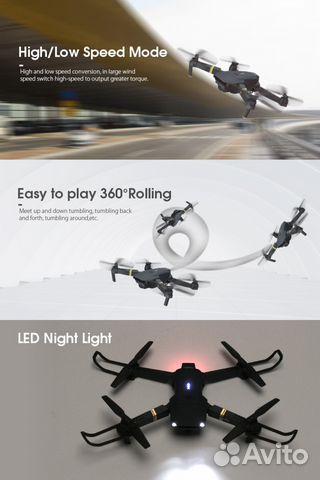 Новый дрон Eachine e58 с HD камерой 720p купить 10