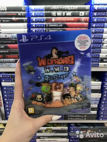 Worms PS4 Б.У (Обмен)