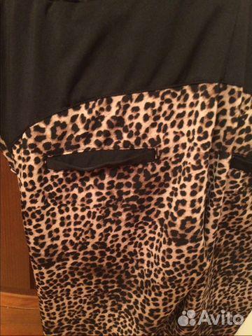 Брюки леопардовые 89187209318 купить 2
