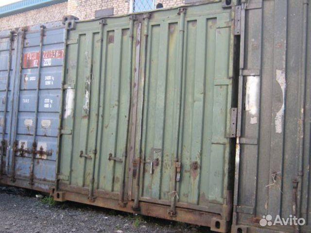 89370628016 Garage Container Metalicheskiy 6m