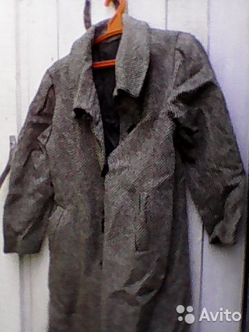 Пальто зимо-сезонное 89273640929 купить 1