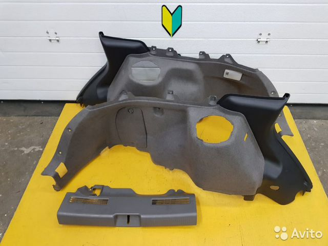89625003353  Обшивка багажника Subaru Impreza WRX