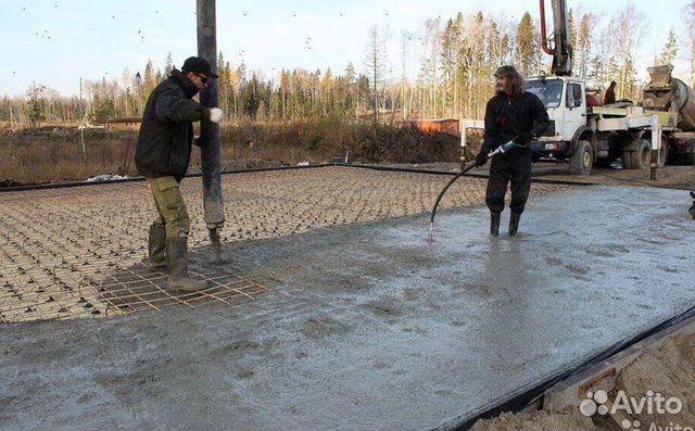 бетон в шентале